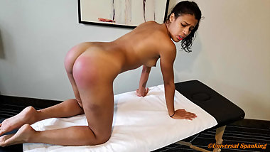 Spanked By Her Strict Coach