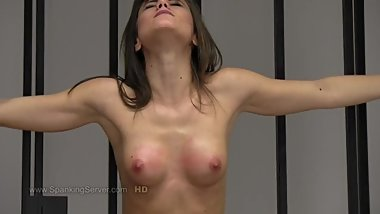 Caprice's breast whipping 1812