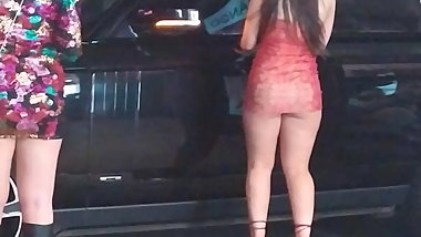 Pawg Bubble Butt Upskirt - Ass Cheeks Hanging Out BUSTED