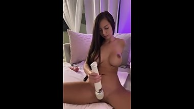 Kacyblack18 teases and plays with tight young 18 yr old pussy