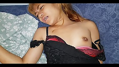 Tiny Thai girl Alicia get cumshot & creampie her tight pussy - acup_thainy