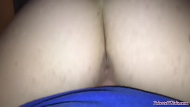 Amature 18 year old girlfriend rides dick