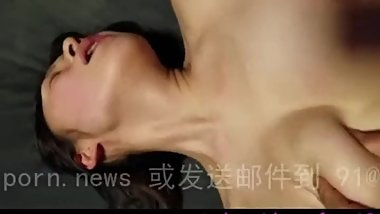 Chinese Exchange Student fucked in the ass while host family away - Amateur