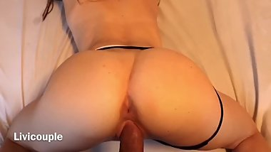 intense morning sex with perfect ass