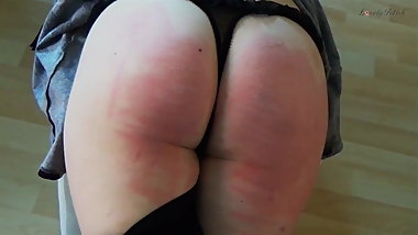 Clip 9Lil Paddled and caned - DS - $10