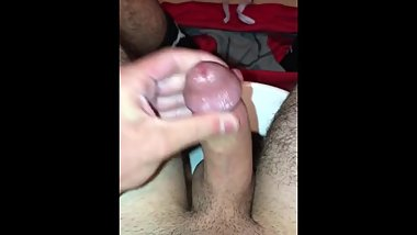 18 YEAR OLD BUSTS HUGE NUT