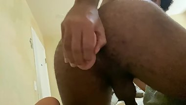 Barely 18 plays with dildo