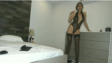 Russian Girl In Stockings and Heels Dress Sexual Lingerie